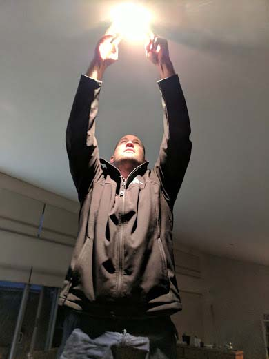Installation of a new light internal light fitting-Electrician Busselton - Bayside Electrical & Communication Services 0474 447 645